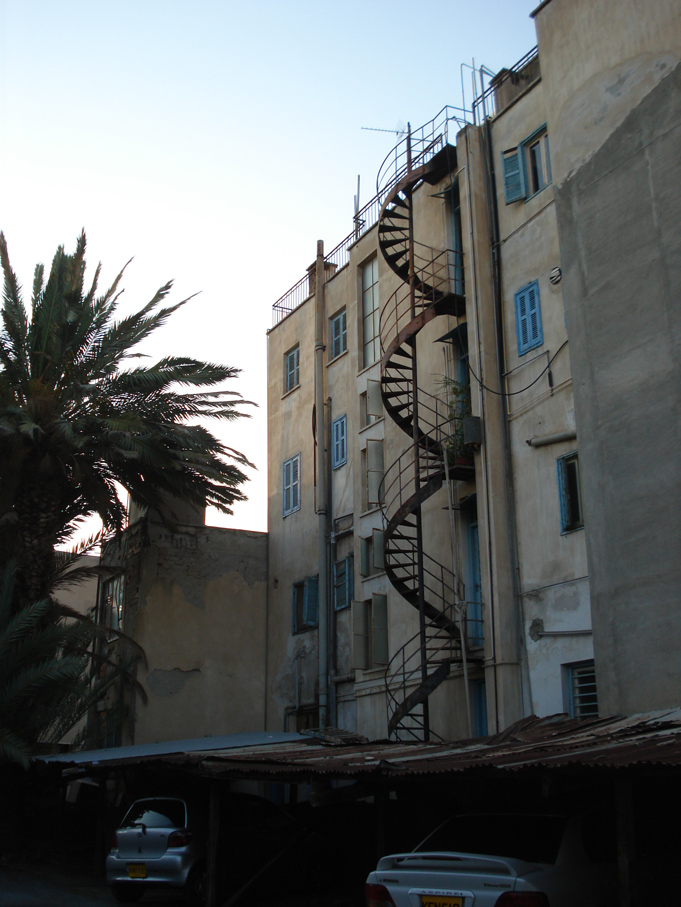 spiral. down town Nicosia. August '09. Photo: Shona Muir