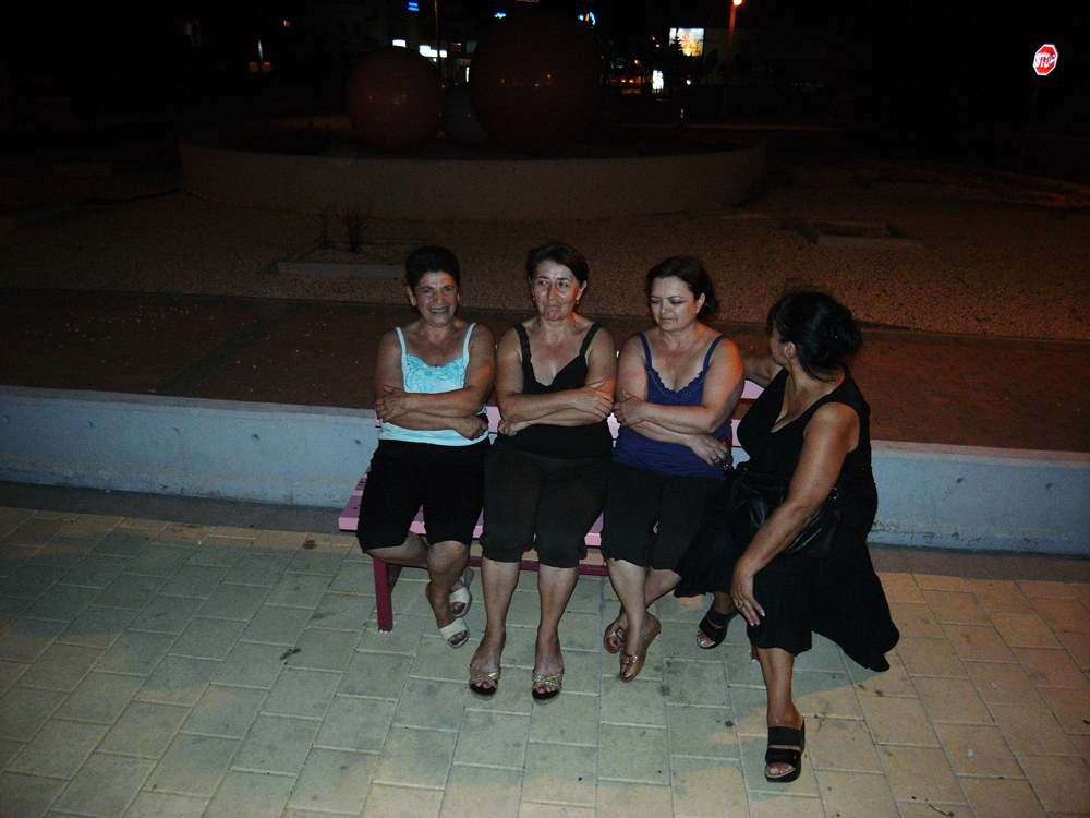 women from Georgia. Larnaka August '09. Photo: Pan. all rights reserved