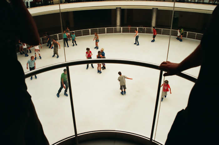 ice-skating rink. Limassol. August '09. Photo: Aris C. all rights reserved
