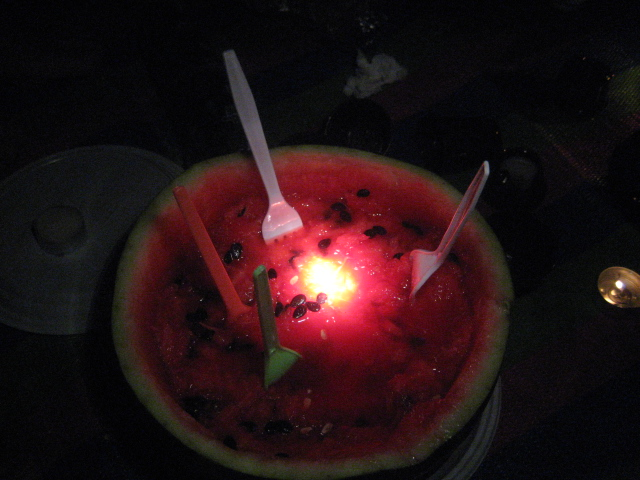 Watermelon, Polis campsite. Pafos. July '09. Photo: Diyala Muir. all rights reserved