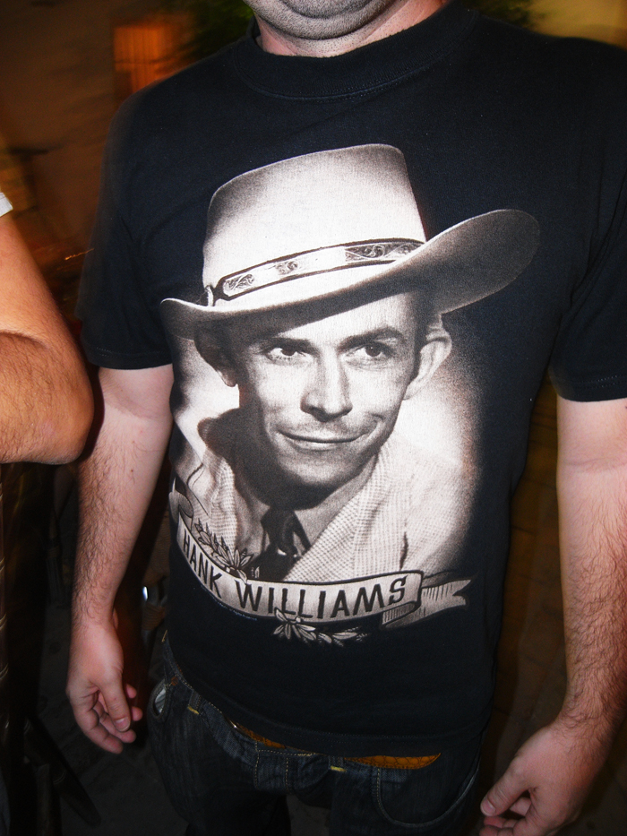 Hank Williams. Savino bar. Larnaka. Sept '09. Photo: Pan. all rights reserved