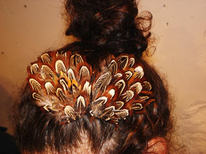 feather hair 0018216