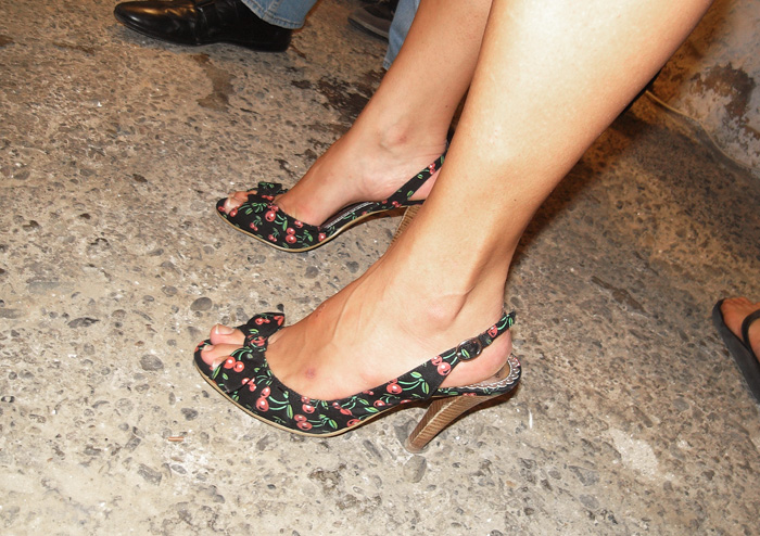 flower heels 0018219