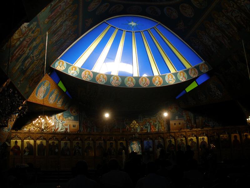 Ayios Varnavas Church. Nicosia. Sept '09. Photo: Michalis Mavromichalis. all rights reserved