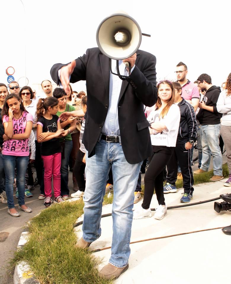 Power to the Megaphone... (the Mayor's speech)